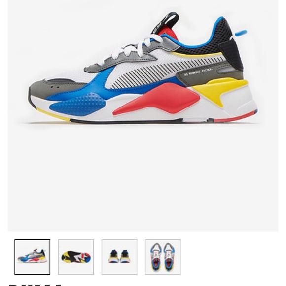 Puma Shoes | Puma Rsx Toys Jr | Poshmark